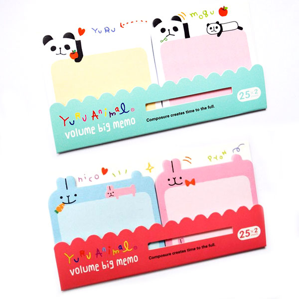 kawaii sticky memos for planners