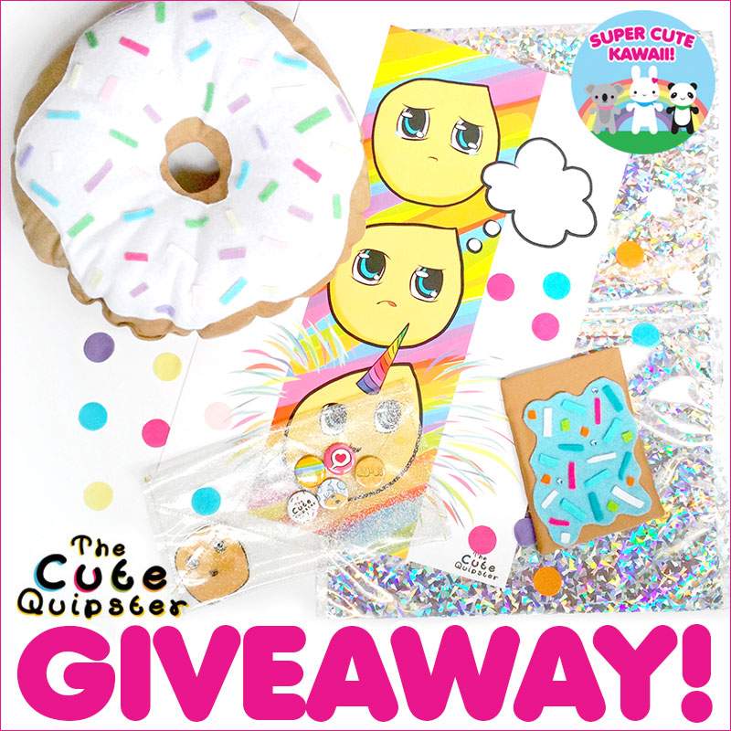 The Cute Quipster giveaway