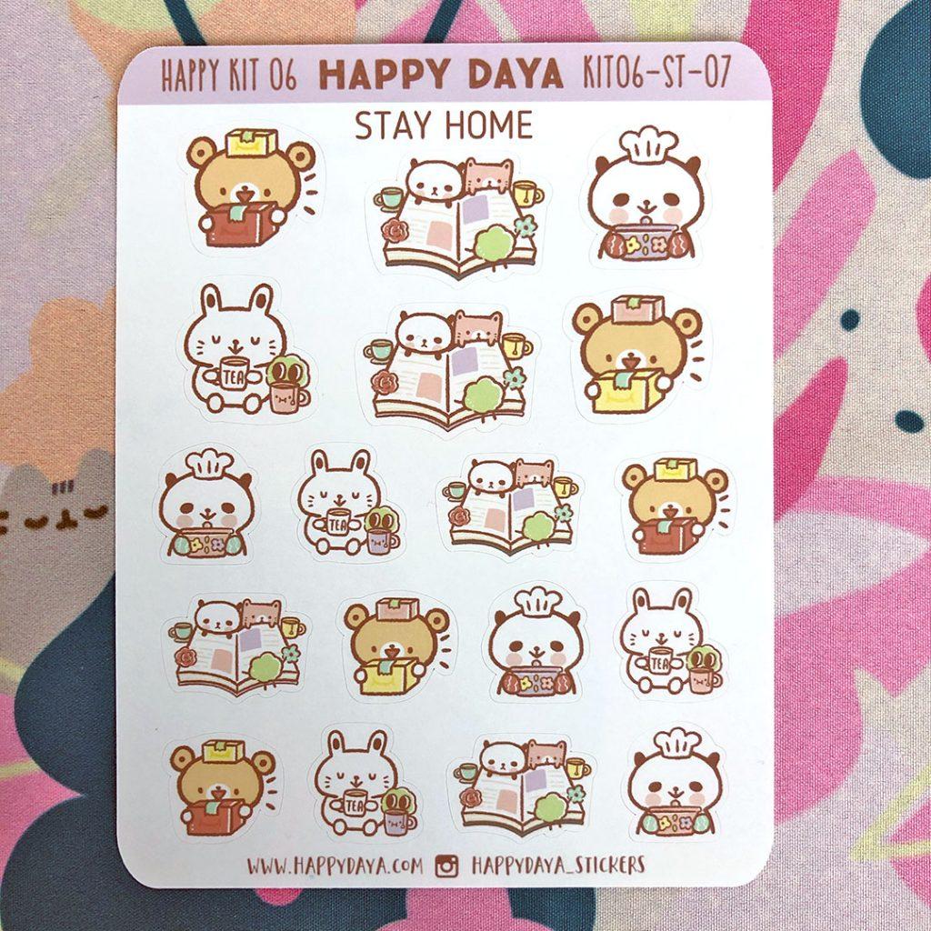 Kawaii Stationery Shops - Happy DAYA