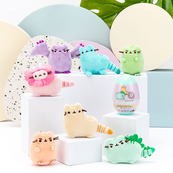 Kawaii Pusheen Dinosheen surprise plush