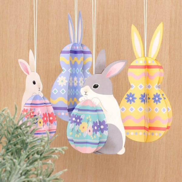 Free Easter Bunny Decorations