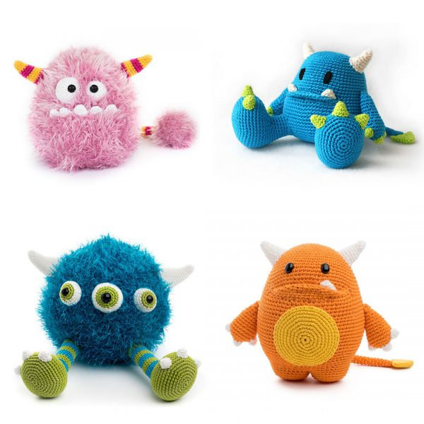 Kawaii Monsters Amigurumi Crochet Patterns