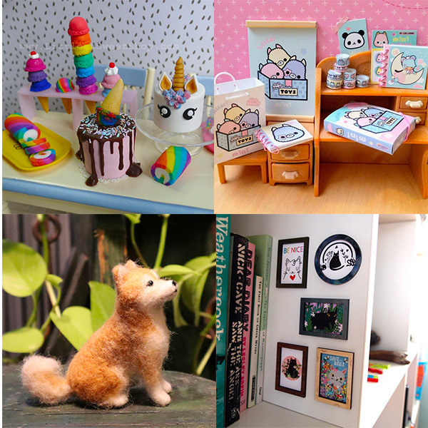 Kawaii dollhouse decorations