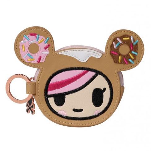 Donutella kawaii keychain purse