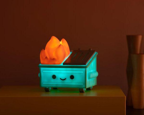 dumpster fire light EU