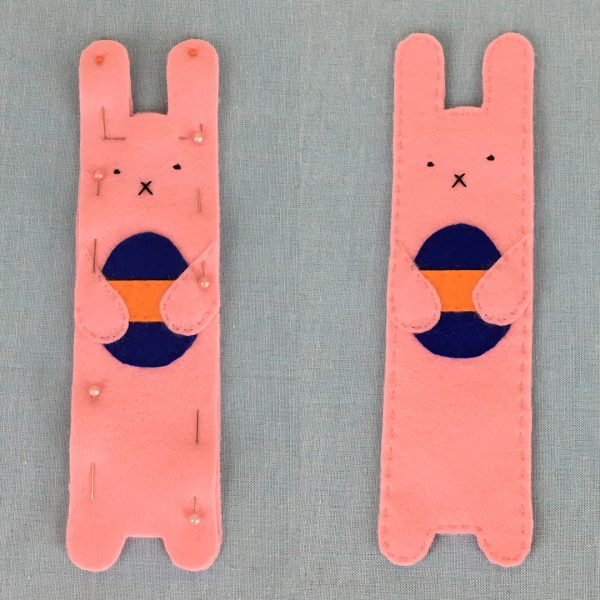 Easter Bunny Bookmarks DIY Tutorial