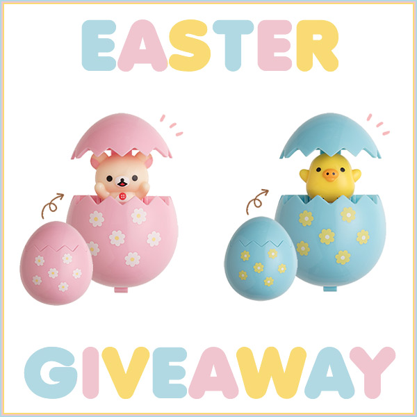 Rilakkuma Easter giveaway