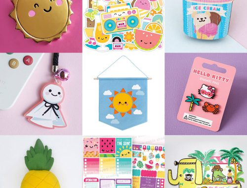 etsy kawaii summer