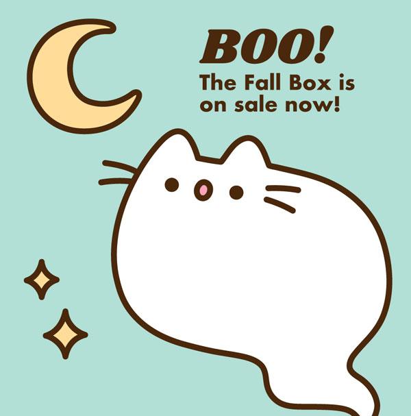 Halloween Pusheen Box