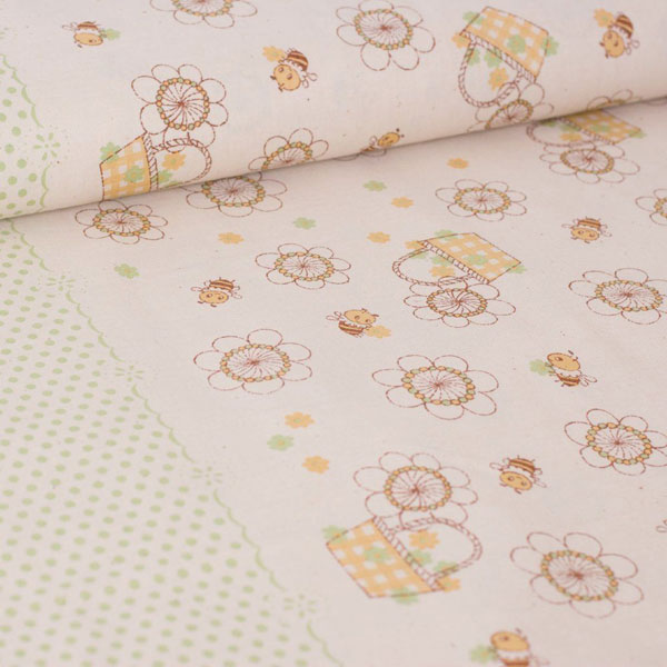 kawaii spring - shinzi katoh fabric