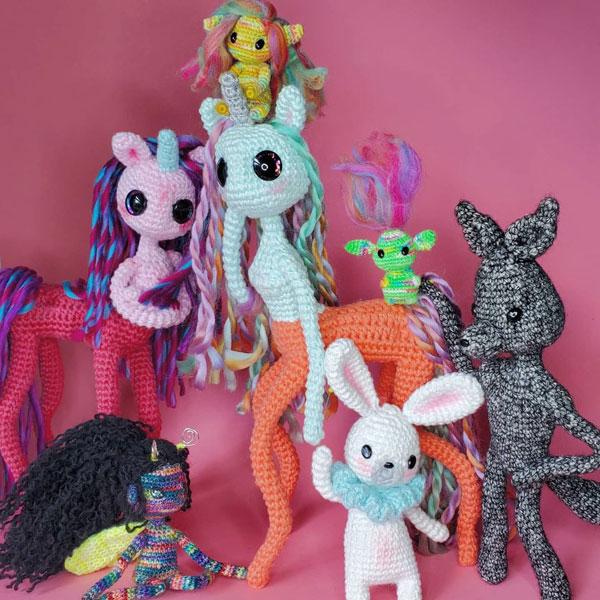 Cute Crochet Artists - fantasysprites