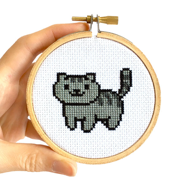 Neko Atsume free cross stitch patterns