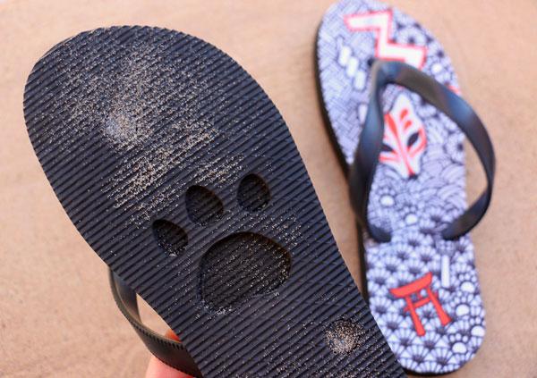 kawaii flip flops