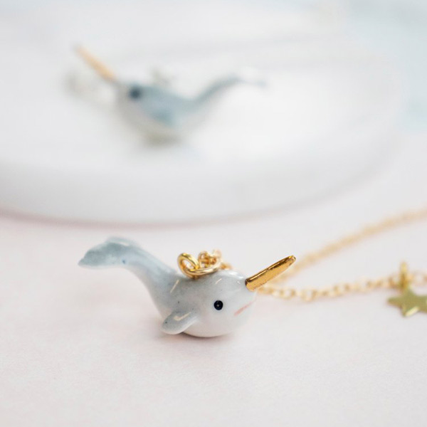 Kawaii Narwhal Necklaces