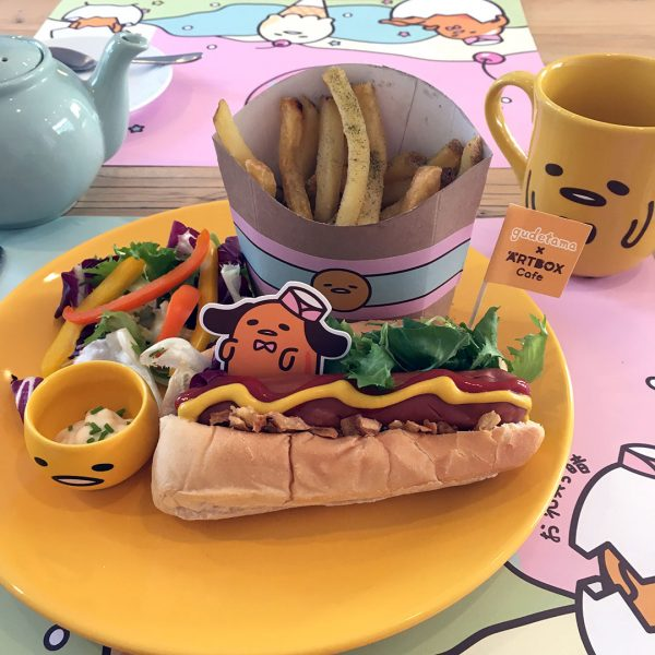 Gudetama's Lazy Lounge At ARTBOX Cafe