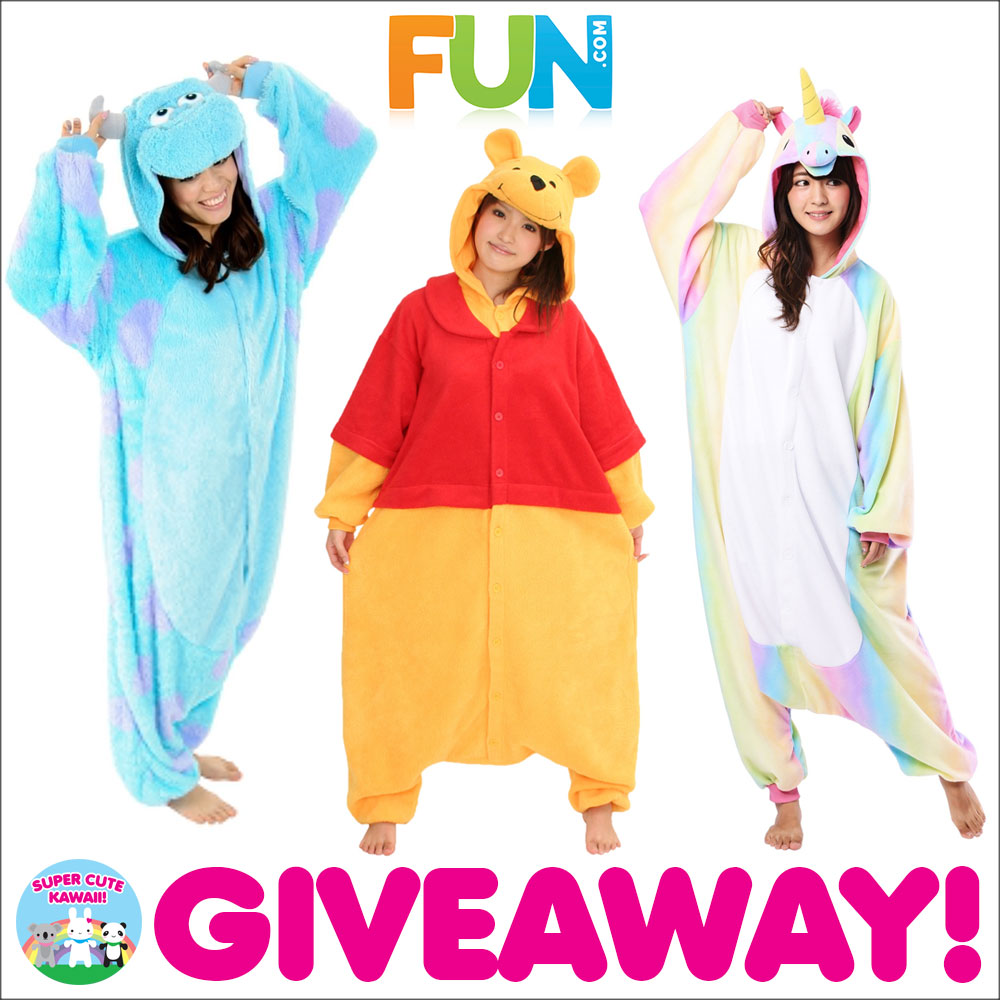 Fun.com kawaii kigurumi giveaway