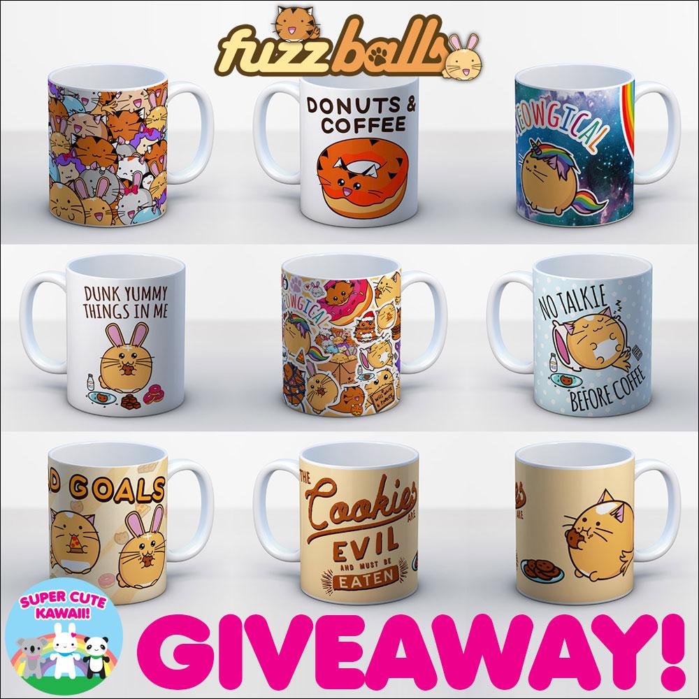 fuzzballs mug giveaway