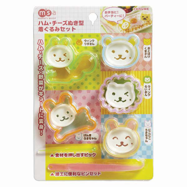 panda rice mold set