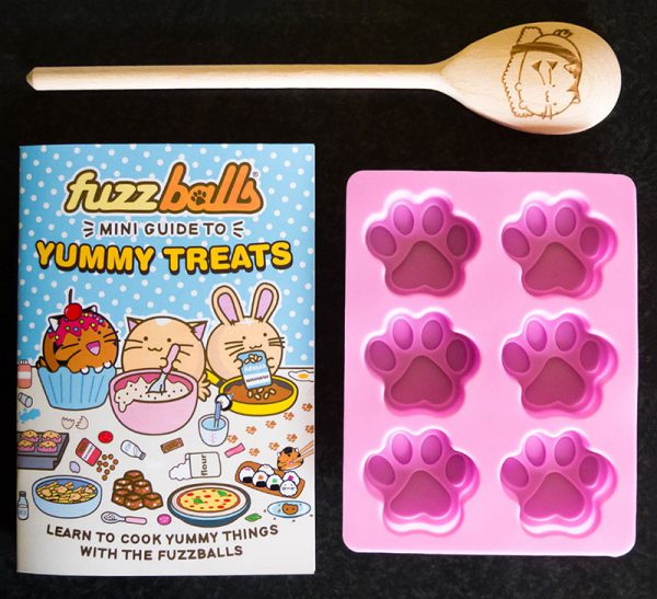 Fuzzballs kawaii baking set