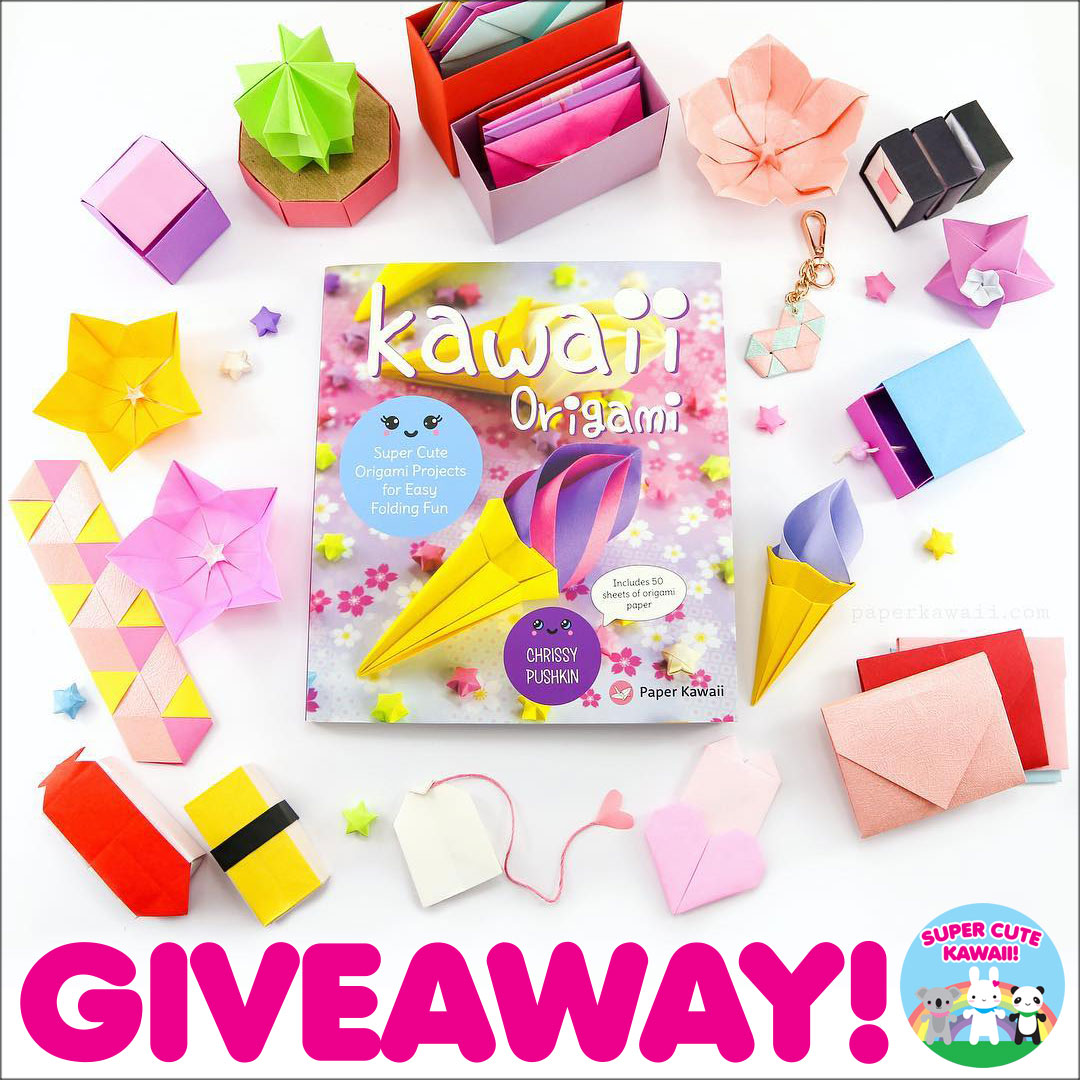 Kawaii Origami Book Giveaway