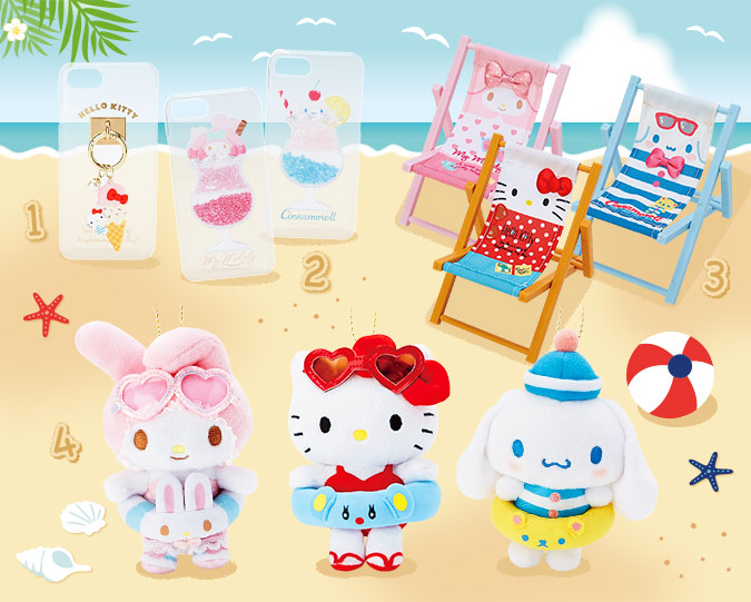kawaii summer sanrio plush
