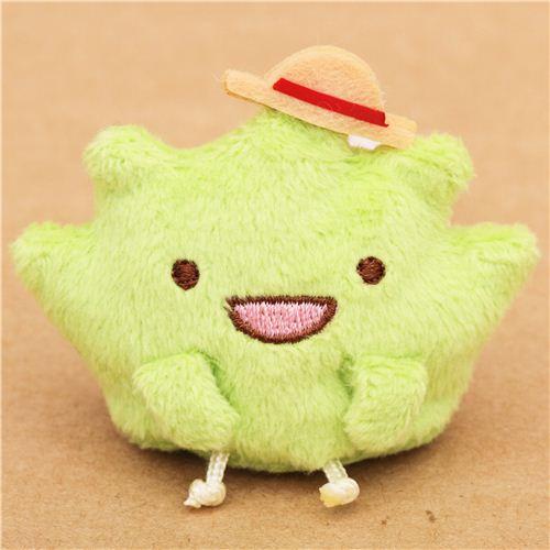 green-mini-Sumikkogurashi-seaweed-with-hat-plush-toy-190670-1