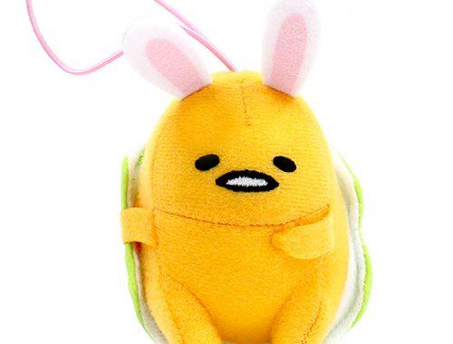 Gudetama Easter Bunny plush