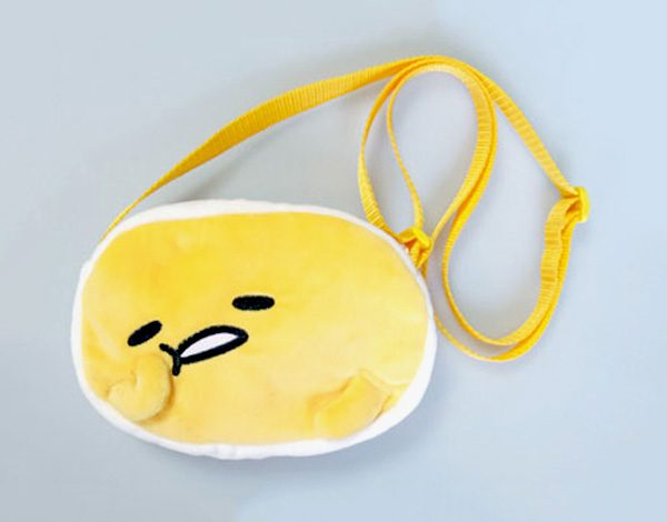 Gudetama plush bag