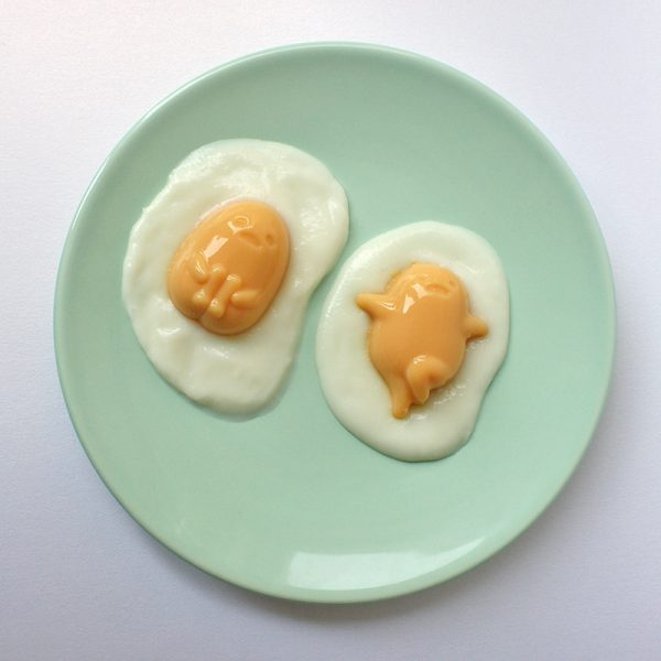 gudetama pudding kit
