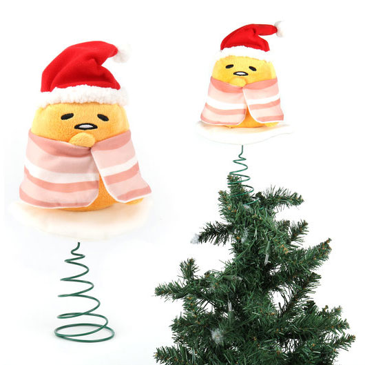 gudetama christmas plush