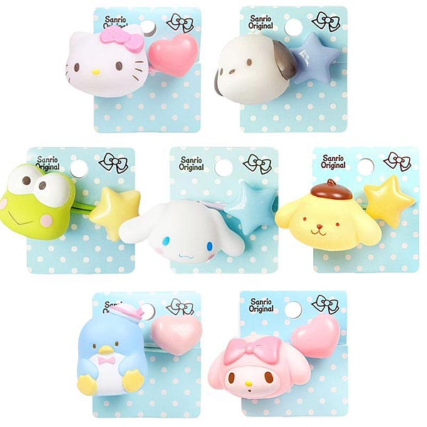 Kawaii hair accessories Sanrio