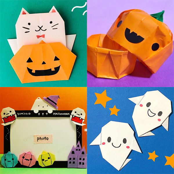 Halloween Origami (Dover Origami Papercraft) (English Edition ... | 600x600