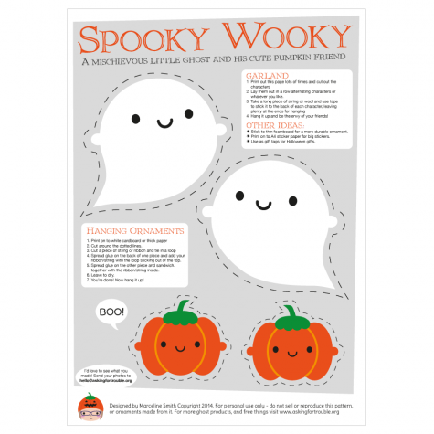 Cute Printable Halloween Decorations Free Crafts To