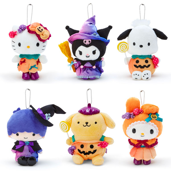 Kawaii Sanrio Halloween Plush Mascots