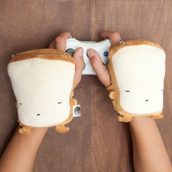 toast kawaii handwarmers