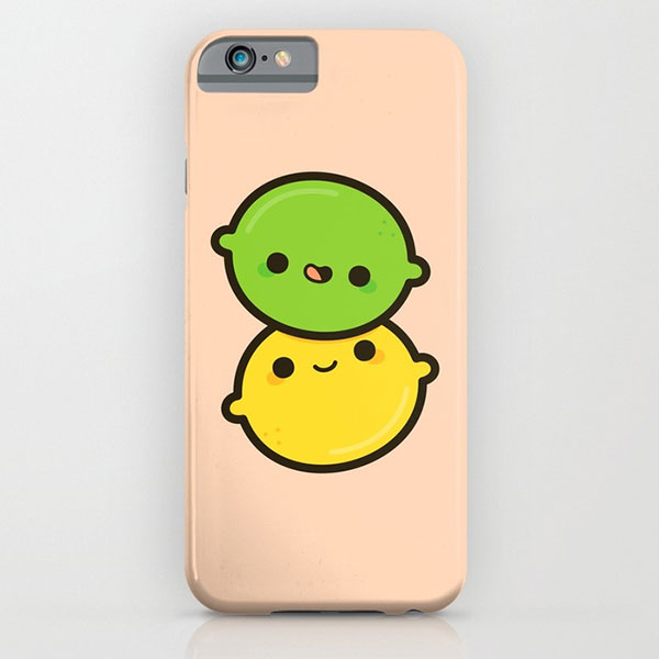kawaii fruit iphone case
