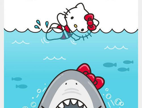 hello kitty x jaws