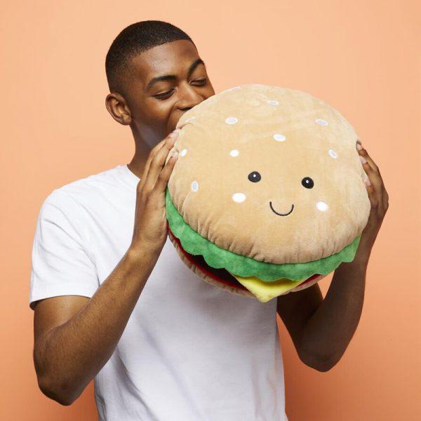 kawaii burger plush