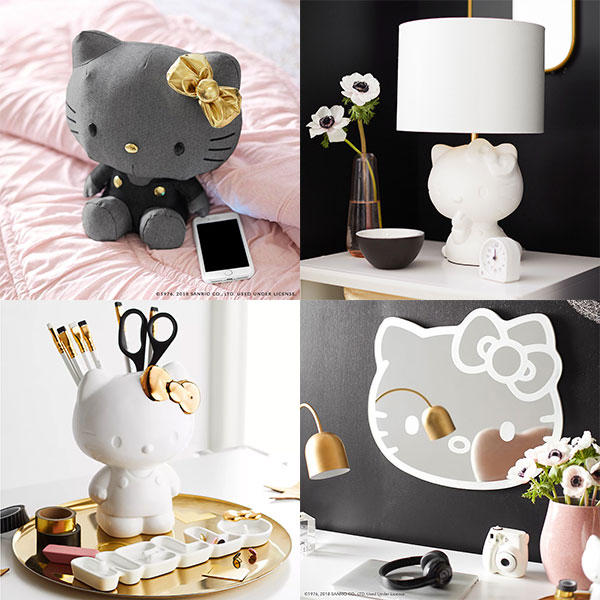 Hello Kitty x PBteen Kawaii Home Collection