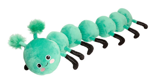 H&M Home kawaii caterpillar plush