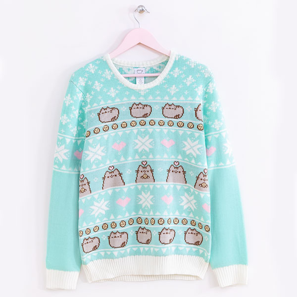 Cute Christmas Jumpers & Sweaters Pusheen