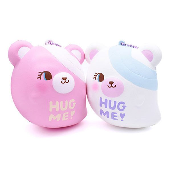 ghost bear kawaii squishies