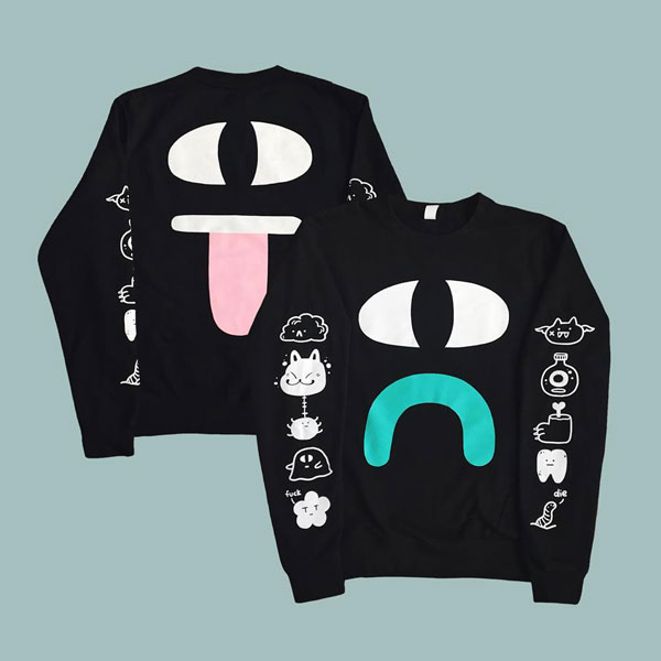 Halloween Clothing - yokai ghost sweatshirt