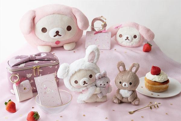 kawaii Korilakkuma rabbit tea time
