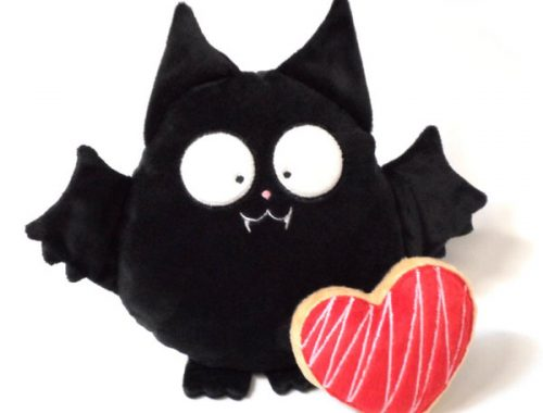 Creepy Cute bat plush
