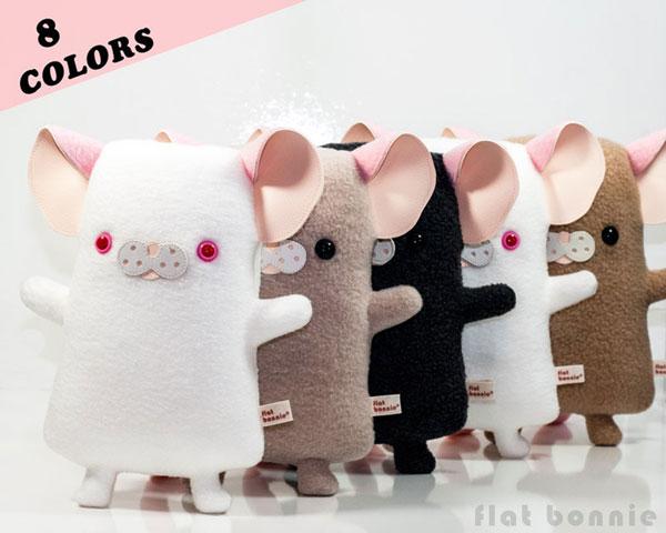 year of the rat/mouse - kawaii rat plush