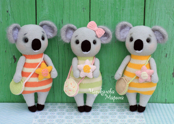 Koala Amigurumi Pattern – Snacksies Handicraft | 429x600