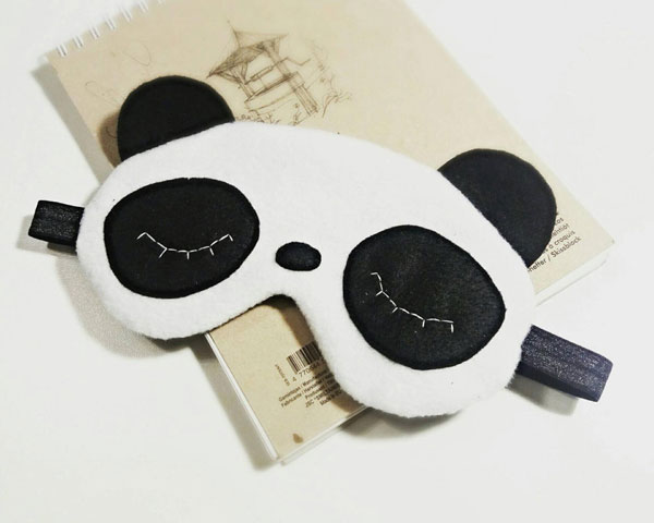 Cute Self Care Gifts - panda sleep mask