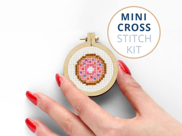 Mini Kawaii Cross Stitch Patterns & Kits