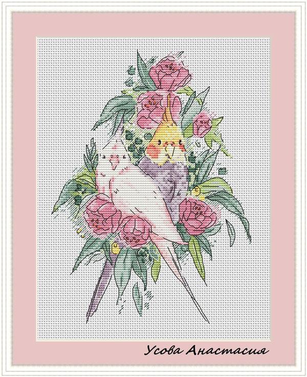 birds Kawaii Cross Stitch Patterns